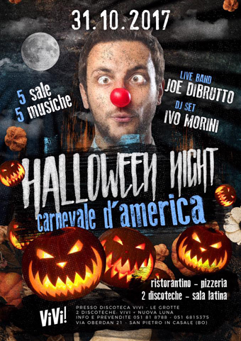 halloween-2016-LOCANDINA-special guest IVO MORINI-hip hop reggaeton BECKYJ-COMMERCIALE HOUSE MUSIC MICHELE FINESSI DJ